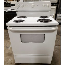 GE Electric Coil Top Range